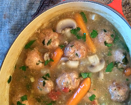 Meatball and Vegetable Stew
