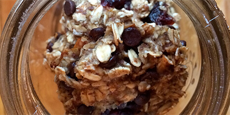 Oatmeal Choco‑Cranberry Cookies