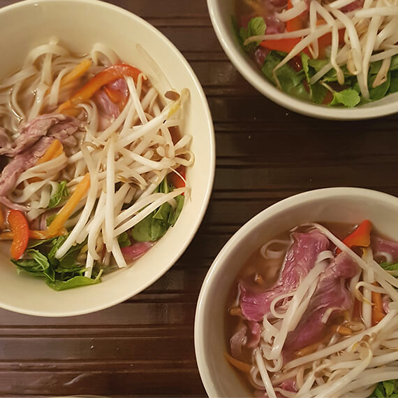 Vietnamese Inspired Beef Noodle Soup
